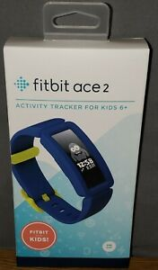 Fitbit Ace 2 Kids Fitness Bluetooth Activity Tracker - Night Sky/Neon Yellow