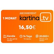 Kartina TV 1 Monat ABO! Offizieler Shop von Kartina.TV ! 1 Месяц Або КАРТИНА ТВ!
