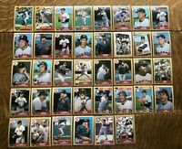 1987 BOSTON RED SOX Topps COMPLETE Baseball Team Set 38 Cards BOGGS CLEMENS RICE