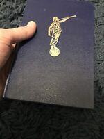 Vintage Angel Moroni Hardback French The Book of Mormon 1982 LDS Scripture Rare