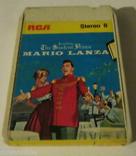 MARIO LANZA - THE STUDENT PRINCE- 8 Track Tape TESTED