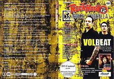 ROCK GUERILLA tv Vol. 12  AC/DC, Pestilence ecc. 21 Tracce+2 Extras New DVD RARE