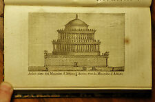 1807:ROMA ROMAE, ANTICO STATO DEL MAUSOLEO DI ADRIANO....Inc/Rame.M.VASI.Etna