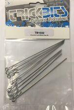 Trickbits Silver Lunghe Body Clip per 1:10, 1:8, 1:5 scala RC auto LOSI
