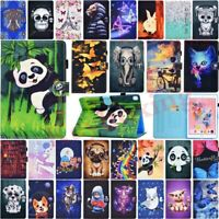 Animals Painted Flip Leather Case Cover For iPad 7th 6th 5th Generation Mini Air