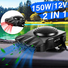 Portable Car Cooler Auto Electronic Air Conditioner Fan Fast Cooling 12V 150W US photo