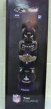 "Baltimore Ravens NFL Team Tiki Totem Figurine 16"" Tall"
