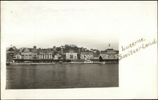 Luzern Switzerland c1910 Amateur World Wide Trip Real Photo Postcard rtw