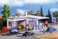 VOLLMER HO SCALE 1/87 ARAL GAS STATION KIT | SHIPS FROM USA | 45156