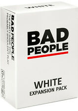 BAD PEOPLE - WHITE Expansion Pack (100 NEW Question Cards) - The Party Game