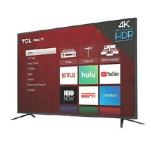 TCL 65-Inch 4K UHD HDR Roku Smart TV. New in the Box. Free shipping 🔥