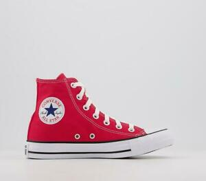 ⚫⚫ 2021 CONVERSE CHUCK TAYLOR ALL STAR HI CANVAS UNISEX TRAINERS