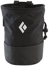 Black Diamond Mojo Zip Chalk Bag - Black - M / L