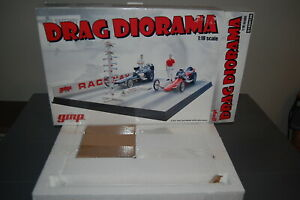 1/18 Scale GMP Drag Diorama Dragway Dragstrip #G1800130