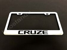 1x CRUZE STAINLESS STEEL LICENSE PLATE FRAME + Screw Caps*