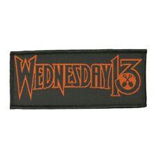 Wednesday 13 Band Logo Patch Murderdolls Metal Punk Music Woven Sew On Applique