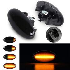 Dynamic Led Side Marker Light Indicator Repeater For Peugeot 206 Partner Citroen