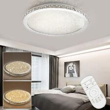LED Ceiling Light Bedroom Lamp Lighting Chandelier Modern Crystal with Remote