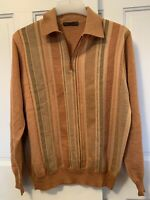 Dalmine Uomo Men's Pullover Sweater Sz 54 / XL 100% Pure New Wool, Made In Italy