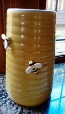 large vase bees honey pot cash on collection barnsley south yorkshire 24cm high