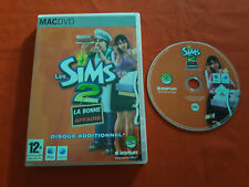 LES SIMS 2 LA BONNE AFFAIRE DISQUE ADDITIONNEL ADD-ON MAC APPLE DVD EN BOITE VF