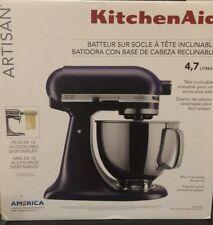 Kitchen Aid 5Qt 5 Quart Artisan Stand Mixer Violet Purple KSM150PSBV 110volts