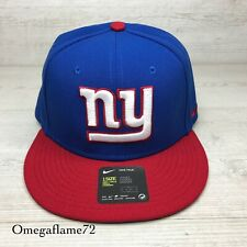 Nike NFL New York Giants Embroidered  Snapback Cap, One Size, 845684-495