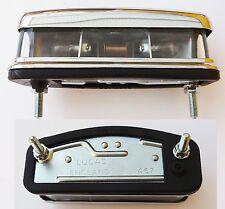 Genuine Lucas L467 Chrome Classic Car Number Plate Light, 127916/2 56790 BHA4153