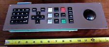 KLA Tencor Control Board 120502 Rev. A Assembly Keypad Trackpad Trackball