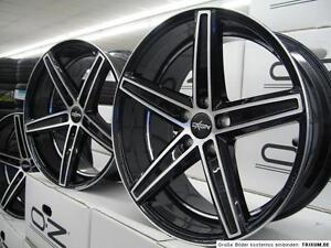 4 neue Alu Oxigin18 Concave black polish 8,5x18, 5/112, ET35, Audi A4 Cabrio 8H