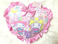 ✨❤ Sailor Moon Luna x My Melody Sanrio Japan Excluisive Luna Cushion Pillow ❤✨
