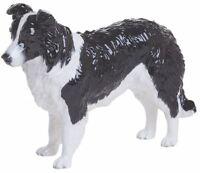 New boxed John Beswick black & white Border Collie dog ornament figure JBD83BW