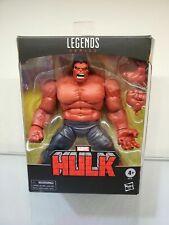 hasbro Marvel Legends Red Hulk Target toysrus Exclusive New Deluxe