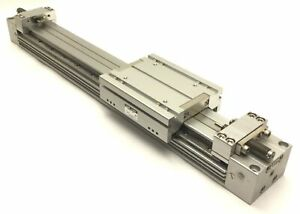 SMC MYH32-300L Pneumatic Rodless Guided Cylinder, 32mm Bore, 300mm Stroke