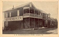 PA - 1910's F. M. Rothenberger's Store in Leesport, Pennsylvania - Berks County