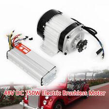 750W 48V Motore elettrico senza spazzole universale triciclo + controller 15A DE