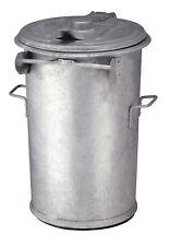 Stahlverzinkter Abfallbehälter 1...