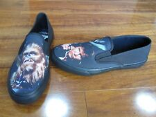 NEW LIMITED EDITION Sperry Star Wars Slip-On Shoes MENS 9 CHEWIE HANS SOLO $75