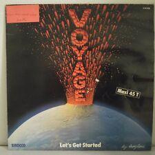 """Voyage – Let's Get Started / I Surrender (Vinyl, 12"""", Maxi 45 Tours)"""