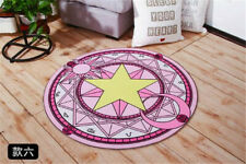 Card Captor Magic Circle Round Cushion Carpet Water Absorption Non-slip Present