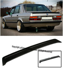 For 81-88 BMW E28 5-Series Sedan M-Tech Style Rear Trunk Lid Lip Spoiler Wing