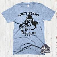 Vintage Beer Tshirt Kongs Brewery Shirt Funny Beer Tshirts Mens Gift