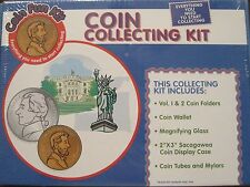 Coin Collecting Kit - includesCoin Folder, Coin Wallet, Coin tubes and much more
