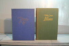 lot 2 old Dutch Nederland language books Willy Corsari Illusies Janet Coombe