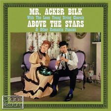 ACKER BILK - ABOVE THE STARS (NEW SEALED CD) ORIGINAL RECORDING