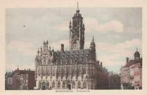 Ansichtkaart Nederland : Middelburg - Stadhuis (boxa0021)