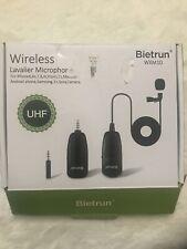 Bietrun Wxm10 wireless lavalier microphone