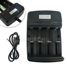 AA AAA C Size NiZn 1.6V FeLiPO4 3.2V Battery Rechargeable USB Charger HyperPS