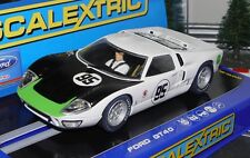 Scalextric C3231 Ford GT40 MKII 1966 Daytona Slot Car 1/32