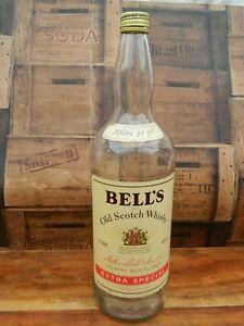 Bells Old Scotch Whisky Bottle 4.5l Money Box Size